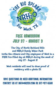 NRH2O Family Water Park City Of West Invite   City of West